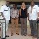 (L-R) Dr. Seth Owusu-Agyei, Dr. Yazoume Ye, Dr. Samantha Herrera, Prof. Osman Sankoh